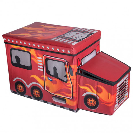 Caja Organizadora Red Flames - Decoración
