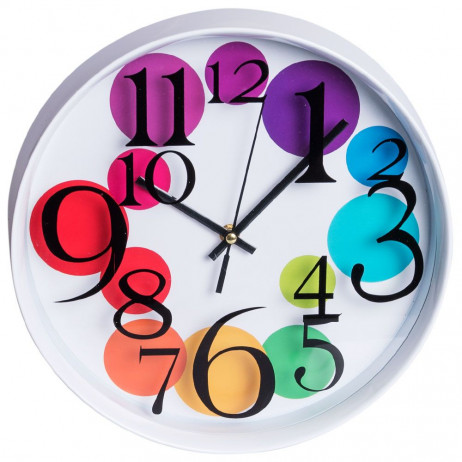 Reloj de Pared Bubbles 30 cm