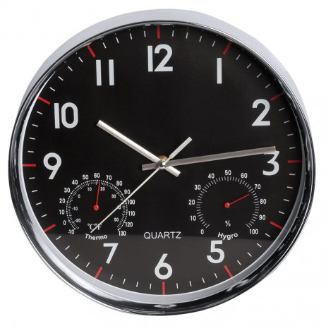 Reloj de Pared Quartz Redondo 30 cm