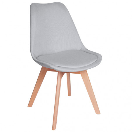 Pack 4 Sillas Synk Tela - Packs Sillas Comedor
