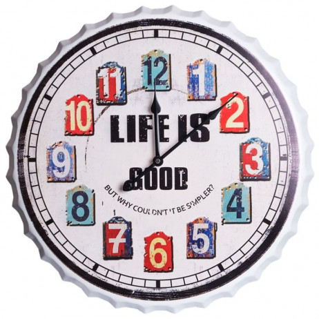 Reloj de Pared Life 50 cm - Decoración