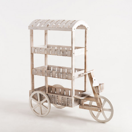 Carrito Candy Bar Peach Blanco