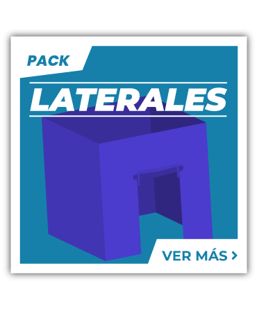 Packs de Laterales para Carpas Plegables