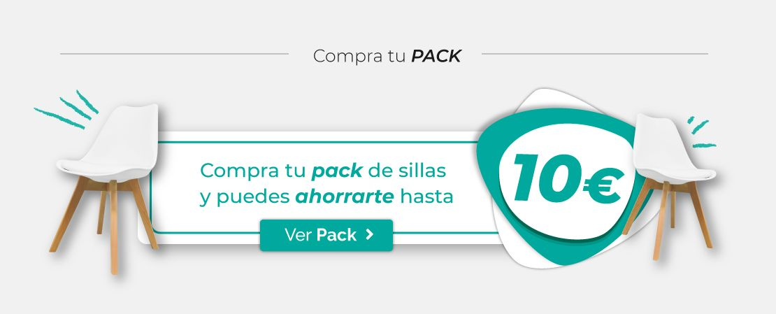 Pack de sillas Synk Basic